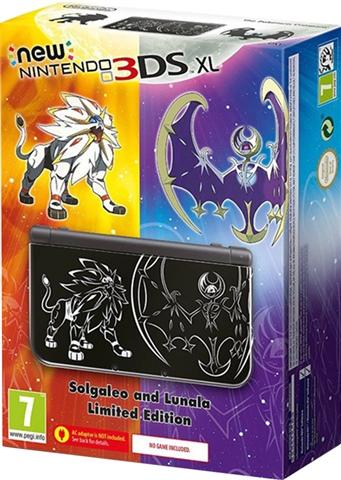 New 3ds Xl Pokemon Sol Y Luna Caja Cex Es Comprar Vender Donar