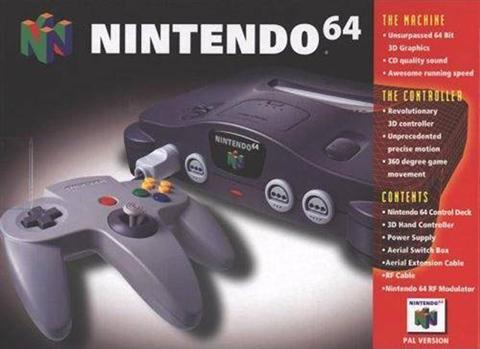 Nintendo 64 Negro Caja Cex Es Comprar Vender Donar