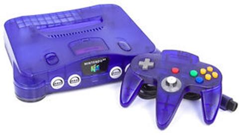 Nintendo 64 Uva Morada Sin Caja Cex Es Comprar Vender Donar
