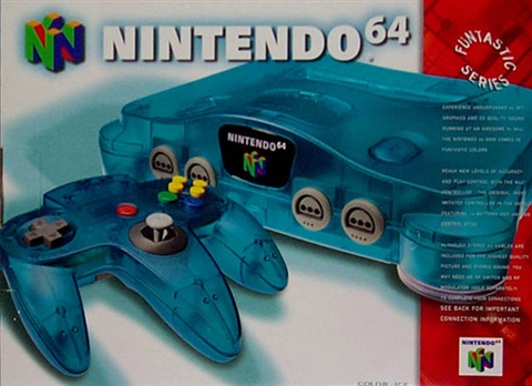 Nintendo 64 Azul Hielo Caja Cex Es Comprar Vender Donar