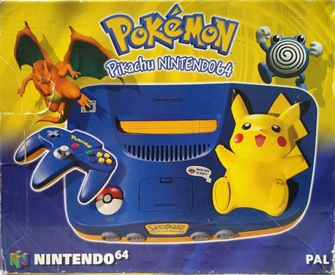 Nintendo 64 Pikachu Azul Caja Cex Es Comprar Vender Donar