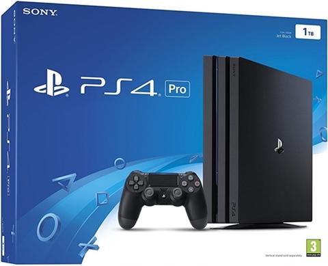 Playstation 4 Pro 1tb Negro Caja Cex Es Comprar Vender Donar